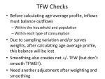 tfw checks