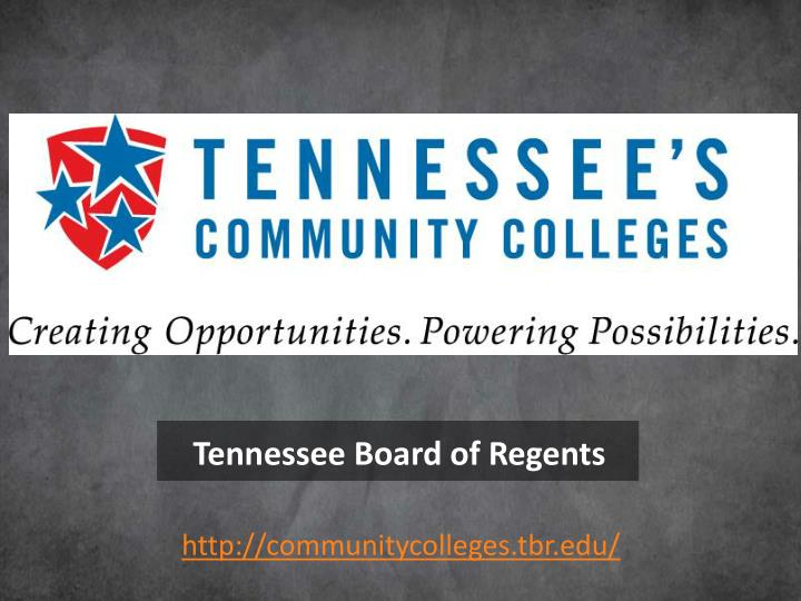 Tennessee Board of Regents