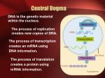 central dogma1