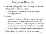 resistance reaction