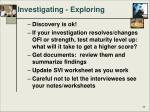 investigating exploring1