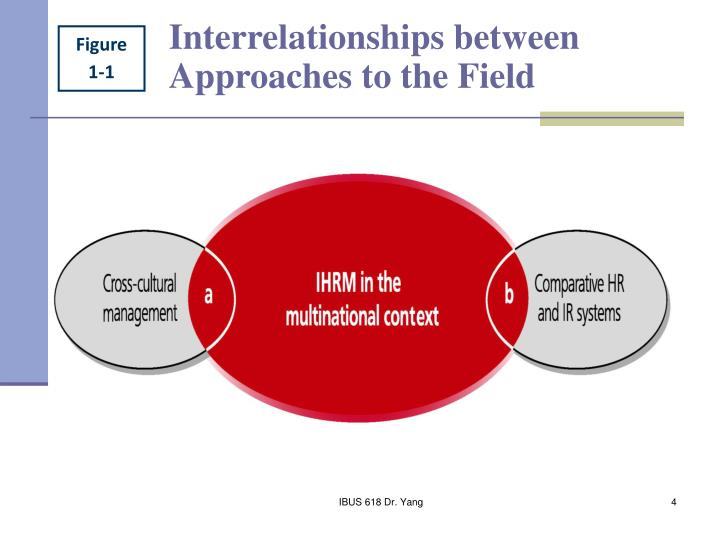 Interrelationships between Approaches to the Field
