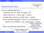 fixed point flow