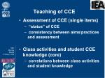 teaching of cce2