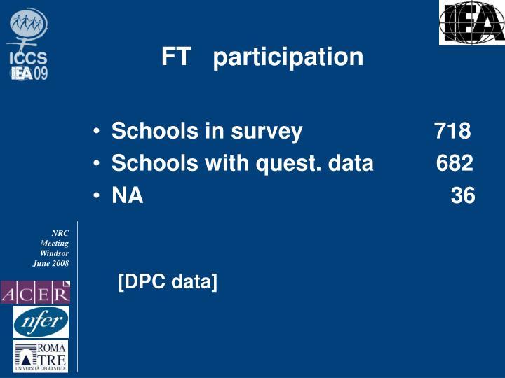 Ft participation