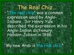the real chiz