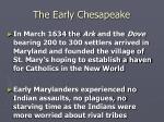 the early chesapeake15