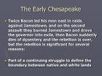 the early chesapeake24