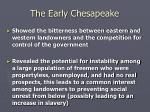 the early chesapeake25