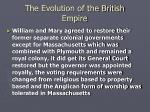 the evolution of the british empire11