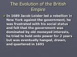 the evolution of the british empire12