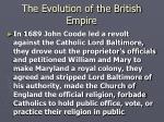 the evolution of the british empire13