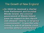 the growth of new england16