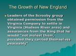 the growth of new england2