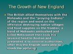 the growth of new england21