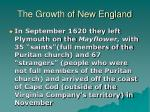 the growth of new england3
