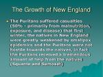 the growth of new england4