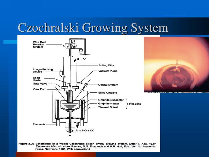 Czochralski Growing System