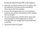 process for determining tfw in oo systems