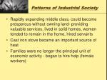 patterns of industrial society4