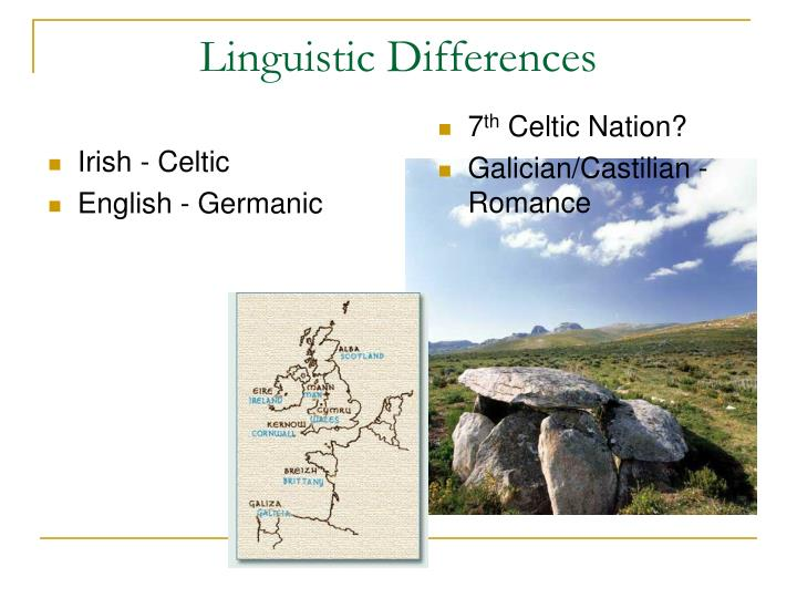 Linguistic differences