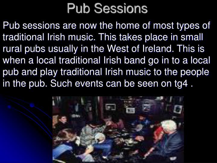 Pub Sessions