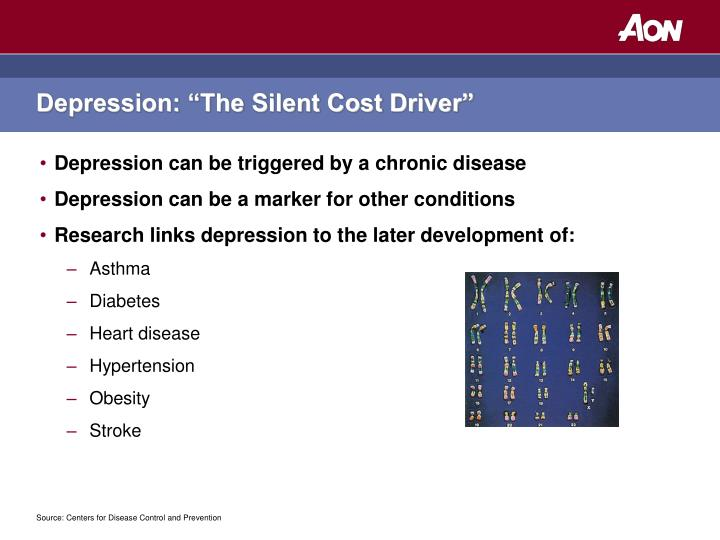"Depression: ""The Silent Cost Driver"""