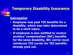 temporary disability insurance10