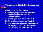 temporary disability insurance7