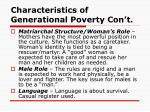 characteristics of generational poverty con t2