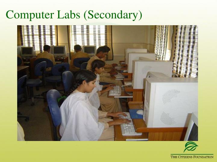 Computer Labs (Secondary)