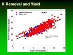 k removal and yield1