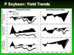 p soybean yield trends