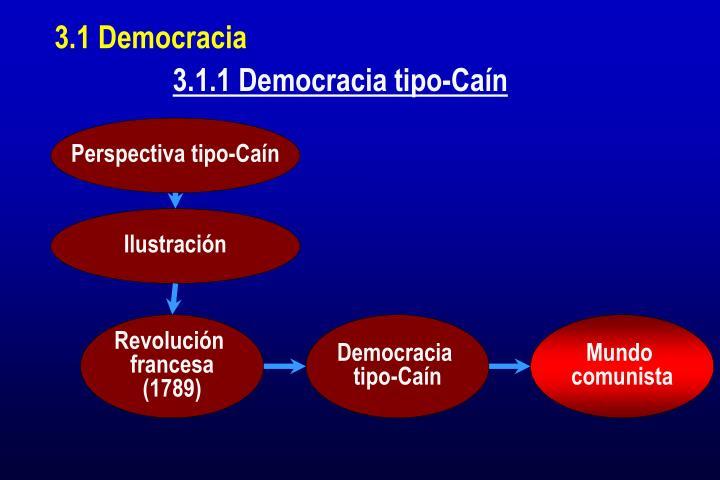 3.1 Democracia