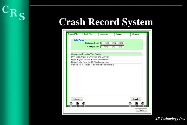 Crash Record System