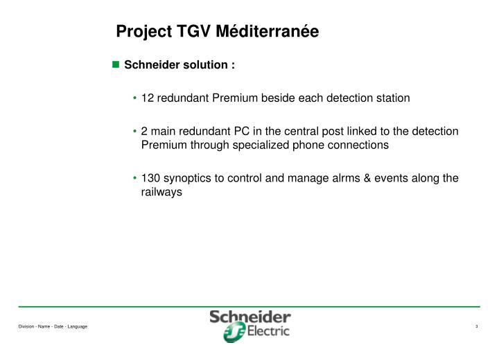 Project tgv m diterran e1