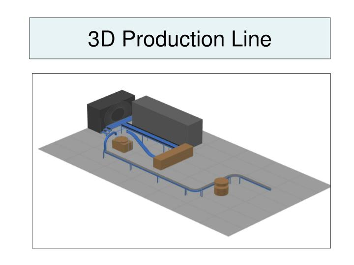 3d production line