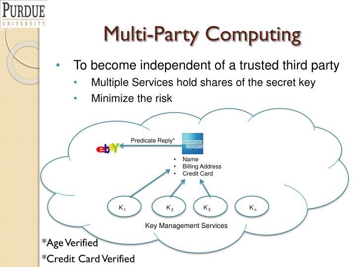 Multi-Party Computing