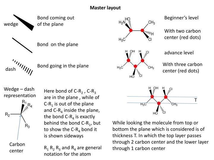 Master layout
