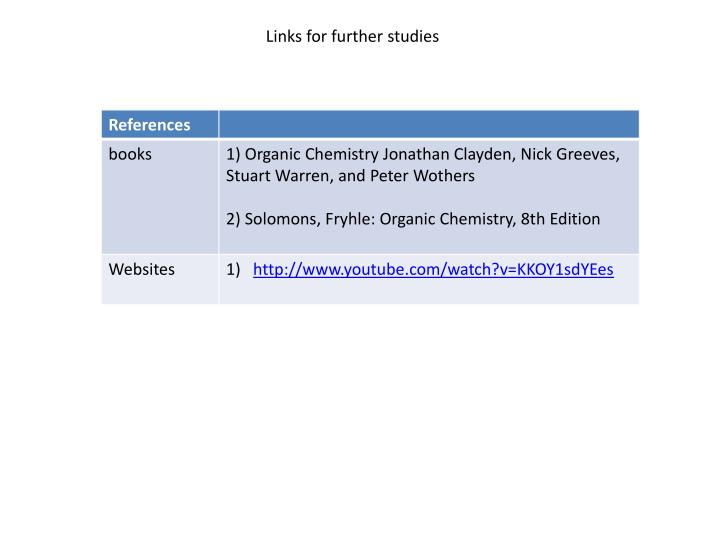 Links for further studies