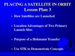 placing a satellite in orbit lesson plan 3