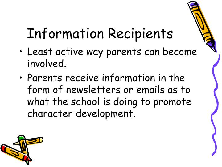 Information Recipients