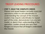 troop leading procedures18