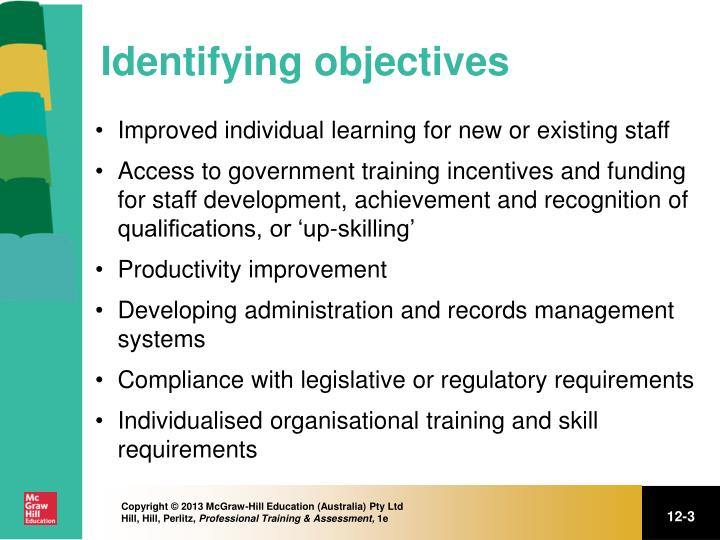 Identifying objectives