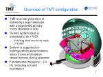 overview of tmt configuration