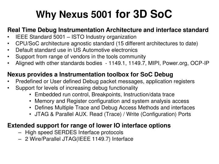 Why Nexus 5001