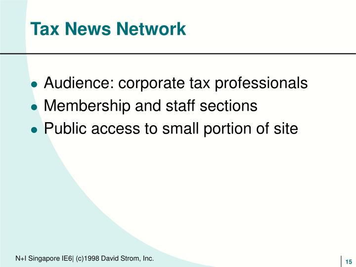 Tax News Network