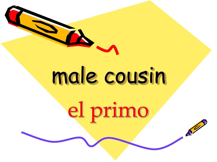 male cousin