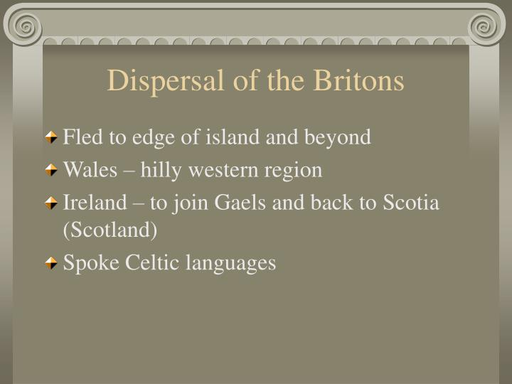 Dispersal of the Britons