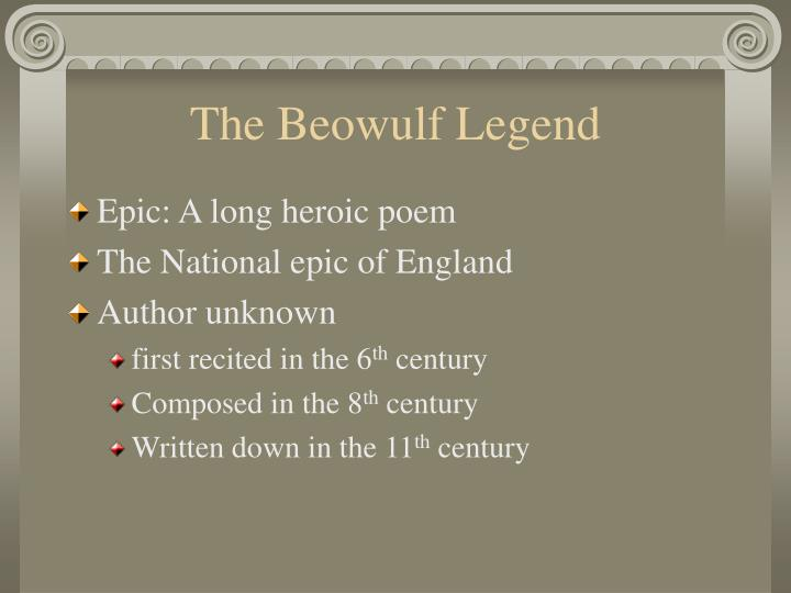 The Beowulf Legend